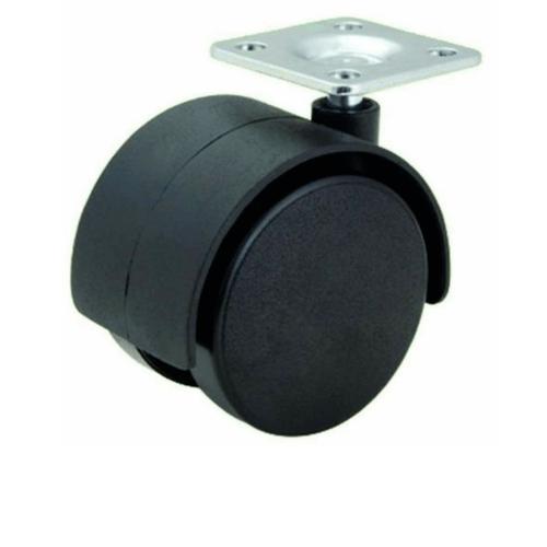 KAMPER ล้อแป้น Black Nylon TWP-35 สีดำ
