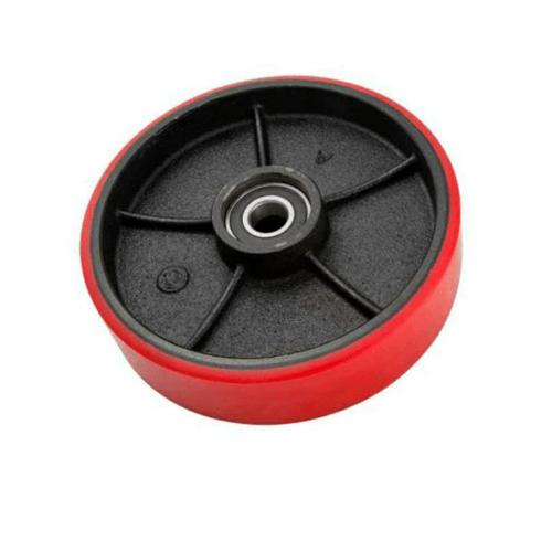 KAMPER ล้ออะไหล่  PU  1050-160 สีแดง