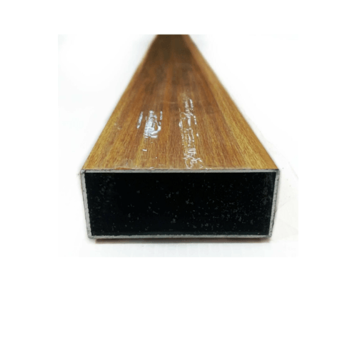 Wellingtan อลูมิเนียมอเนกประสงค์ ผิวเสมือนจริง 5x12x600cm ALU2-6T02 สีครีม