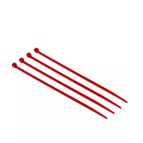 V.E.G. เคเบิ้ลไทร์  2.5x100 4.0 นิ้ว  สีแดง