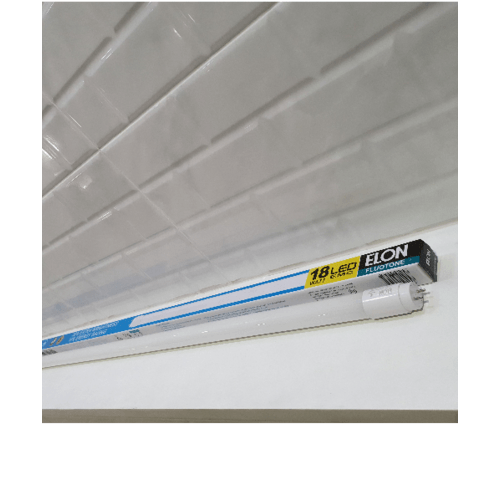 ELON หลอดแอลอีดี  18W เดย์ไลท์  Glass-T8 สีขาว