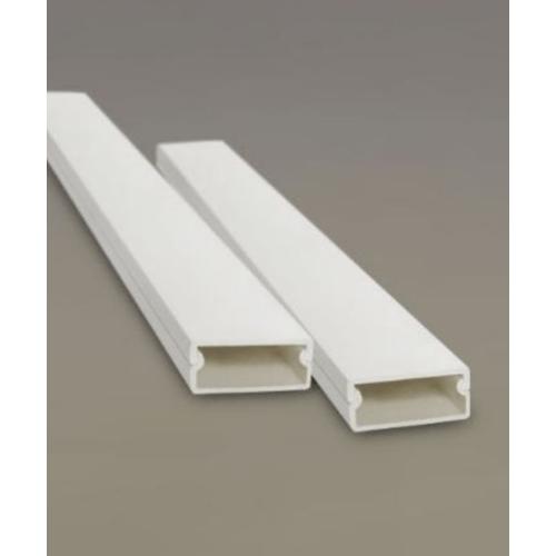 VEG รางทรังกิ้ง ขนาด 39x2000x19 มม. 39x19 มม. สีขาว