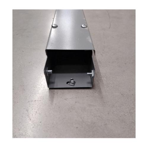 VEG รางวายเวย์เหล็ก (3x4x2.4m)Thickness:0.8mm สีเทาอ่อน