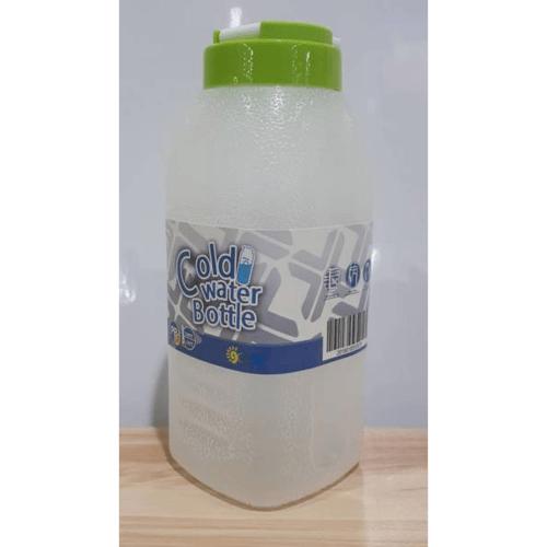 GOME ขวดน้ำพลาสติก 750ML. ขนาด 8.3x8.3x20.5 ซม. K259-GN สีเขียว