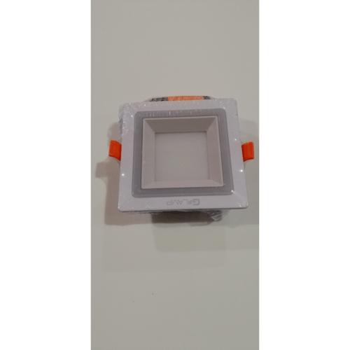 G-LAMP ดาวน์ไลท์ LED (panel) เหลี่ยม  6W6500K+3Wblue สีขาว