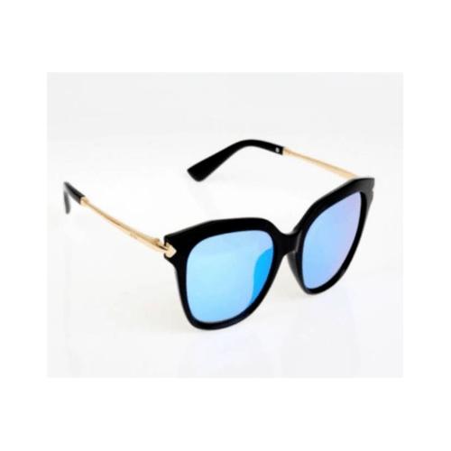 USUPSO แว่นตากันแดดผู้หญิง Trendy box สีฟ้าเข้ม