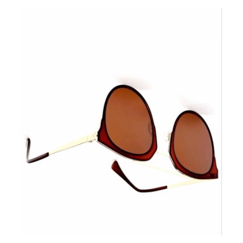 USUPSO แว่นตากันแดด Clsassie  tnin สีน้ำตาลเข้ม