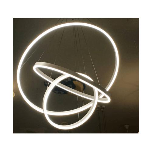 EILON โคมไฟแขวนโมเดิร์น 113W KDD7017 คูลไวท์ สีขาว