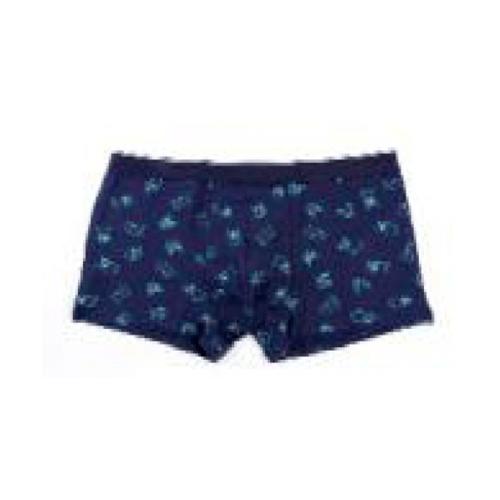 USUPSO กางเกงบ็อกเซอร์ชาย Husky Print สีน้ำเงิน