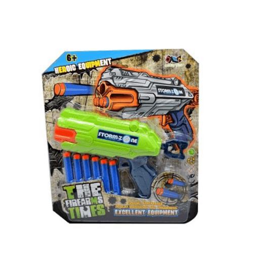 Sanook&Toys  ปืนเนิร์ฟ  EVA Soft bullet gun 291656