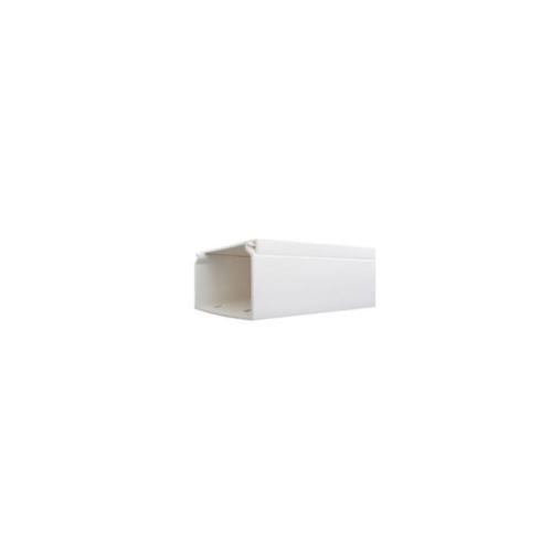 V.E.G. รางวายเวย์ PVC 2m.  A-25x16-2MW  สีขาว