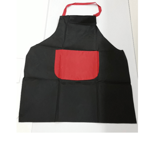 KATELL ผ้ากันเปื้อนแบบกันน้ำ  XFX026 สีดำ-แดง
