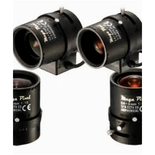 EVISION เลนส์ CCTV เลนส์กล้องวงจรปิด SSV0358GNB สีดำ