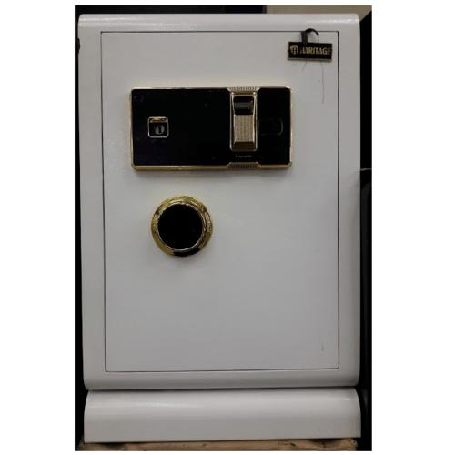 Haritage ตู้เซฟสแกนลายนิ้วมือ  BGX-60/ZW-WH สีขาว