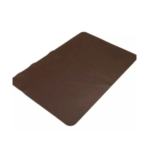 -  แผ่นรองจาน PVC รุ่น CD006 สีน้ำตาลเข้ม