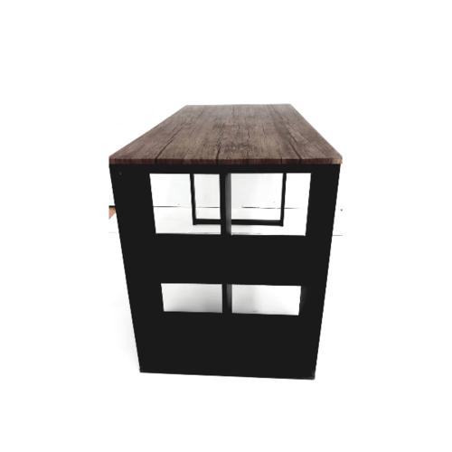 SMITH โต๊ะทำงาน 120x60x75cm KLEIN WAL สีน้ำตาลเข้ม