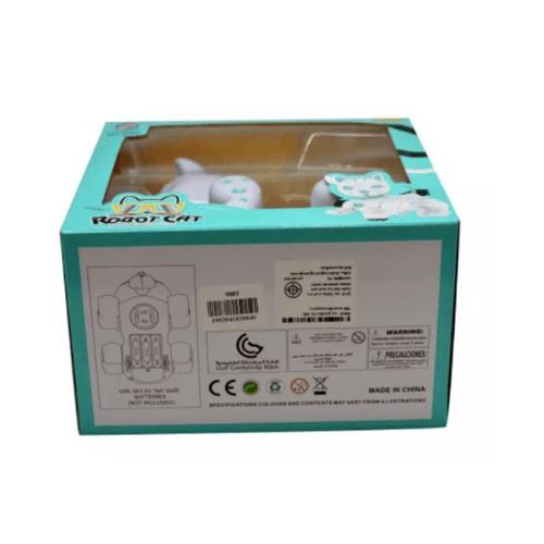 Sanook&Toys หุ่นยนต์แมว R/C 298938 สีขาว