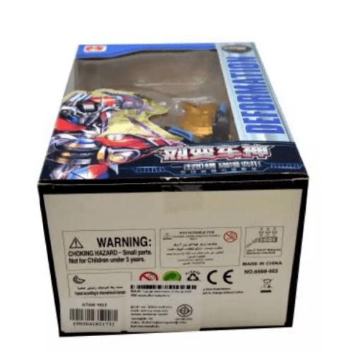 Sanook&Toys ของเล่นรถแปลงร่างเป็นหุ่นยนต์ ชุด Deformation of the car 275983 สีดำ