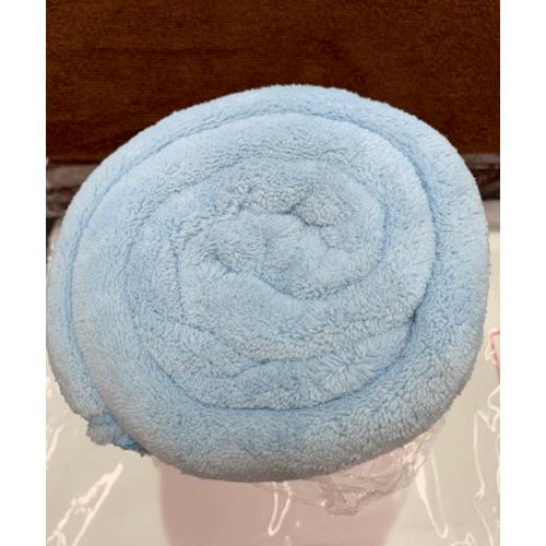 COZY ผ้าเช็ดตัวไมโครไฟเบอร์ 100x150ซม. น้ำเงินเข้ม MFT-100150DB