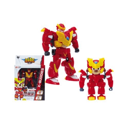 Sanook Toys  หุ่นยนต์ X-Buddies 9155x-2 สีแดง