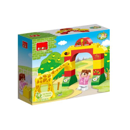 Sanook&Toys บล็อกตัวต่อชุดใหญ่ Giraffe 9565