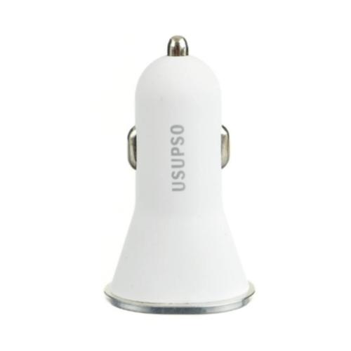 USUPSO ชุดชาร์จโทรศัพท์ในรถ YZD-16S สีขาว