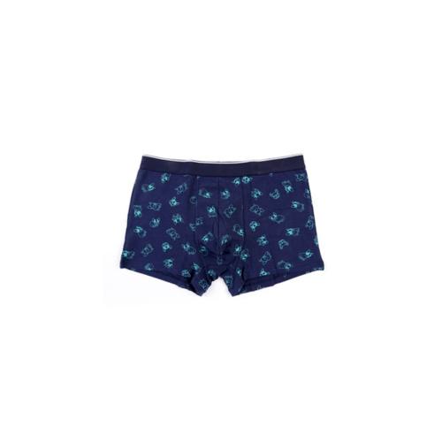 USUPSO กางเกงบ็อกเซอร์ชาย ไซด์ XXL Hatch Dog สีน้ำเงิน