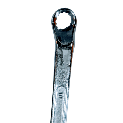 BAUM ประแจแหวน 10X11mm. (Carbon-Steel) Art-22 สีโครเมี่ยม