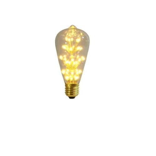 EILON หลอดไฟเอดิสัน  ขนาด 8.2x8x22.5cm GY-49  สีเหลือง