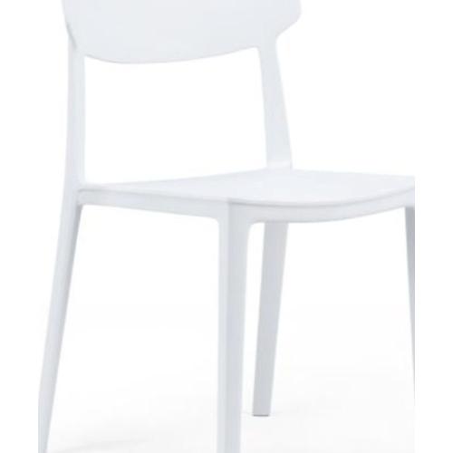 Delicato  เก้าอี้  PP-HSI-001C-WH สีขาว