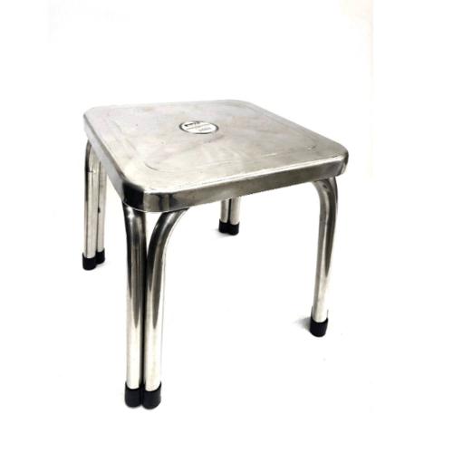 Sane เก้าอี้สเตนเลสทรงเหลื่ยม PQS-FD42 สีโครเมี่ยม