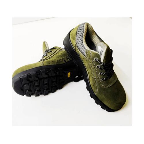 Protx รองเท้าเซฟตี้ #43 พื้น PU BA-128  สีเขียว