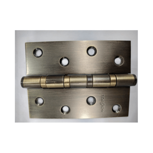 TORSTEN บานพับสเตนเลส4x3x2mm 3ชิ้น สีทองเหลืองรมดำ -
