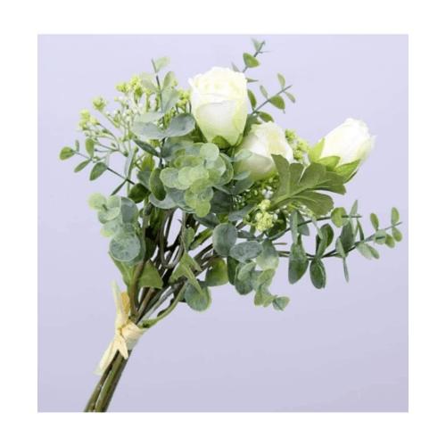 Local  ดอกไม้ประดิษฐ์ตกแต่ง 1x35x1cm. 885161-0556 WH สีขาว