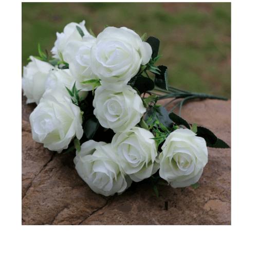 Tree O ดอกไม้ประดิษฐ์ตกแต่ง LL-005 สีขาว