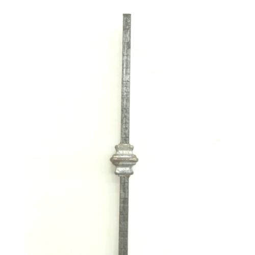 TG ลายเหล็กดัด เหล็กเส้นลายลูกคิดคู่ ขนาด 900 มม. - สีน้ำตาล