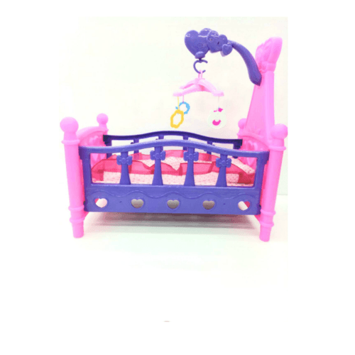 Sanook&Toys ของเล่น ชุดเปลนอนเด็ก  277038 สีชมพู