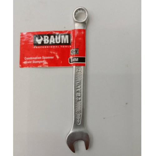 BAUM ประแจแหวนข้างปากตาย 8 mm