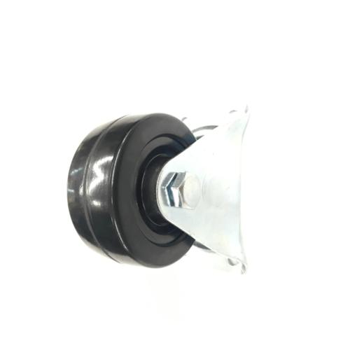 HAMMER ล้อยางดำแป้นตาย  2013-75 สีดำ