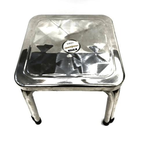 Sane เก้าอี้สเตนเลสทรงเหลื่ยม PQS-FD30 สีโครเมี่ยม