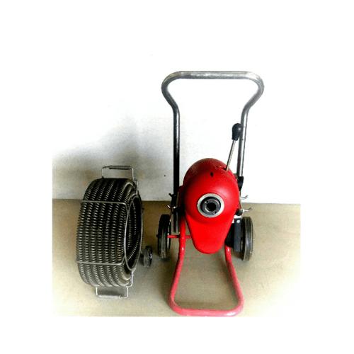 VAVO เครื่องล้างท่ออุดตัน ขนาด 3/8 ล้างได้ไกลถึง 200ฟุต D200A สีแดง