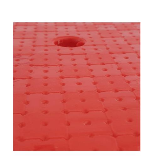 Delicato เก้าอี้พลาสติก 4 ขา ZH006-RD สีแดง