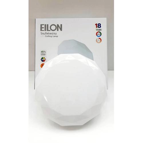 ELON โคมไฟเพดานอะคริลิค เดย์ไลท์  GJXD300P1-20W สีขาว