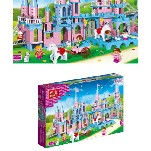 Sanook&Toys บล็อกตัวต่อชุดเล็ก  8363