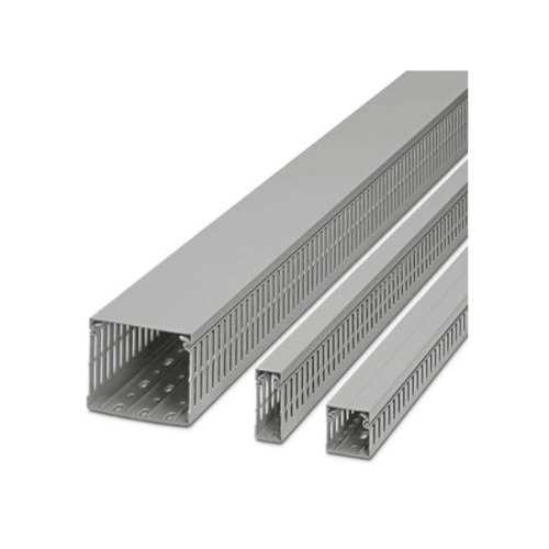 V.E.G รางวายดักส์40x30(HxW)มม. สีเทายาว2เมตร  Y-rail 40x30