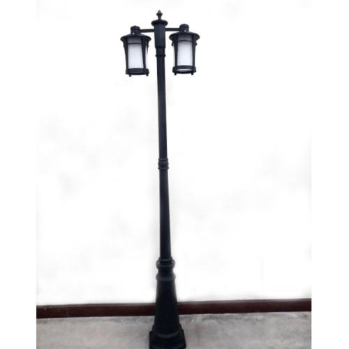 EILON โคมไฟสนาม  RH108P/2  สีดำ