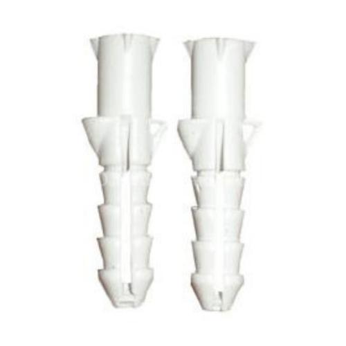 FIX-XY พุกพลาสติก เบอร์8 (30ชิ้น/แพ็ค) EN-023-S สีขาว