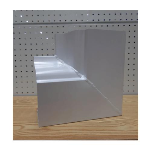 Wellingtan หักมุมใน 90 องศาอลูมิเนียม Lp-90 สีขาว