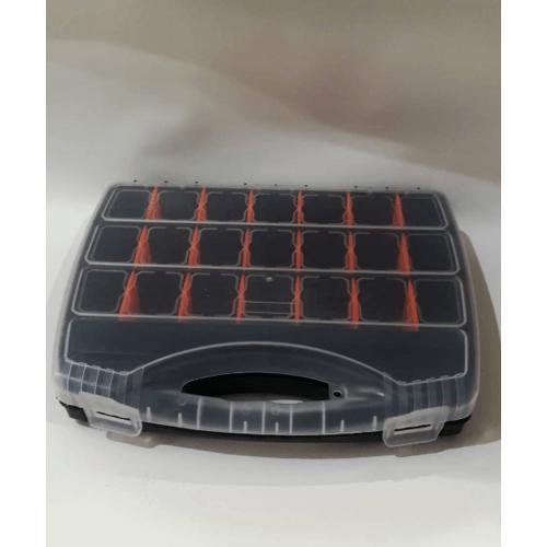 PORT-BAG กล่องเครื่องมือช่าง PORT-BAG  ขนาด 26*32 mm PP01 ดำ-ส้ม