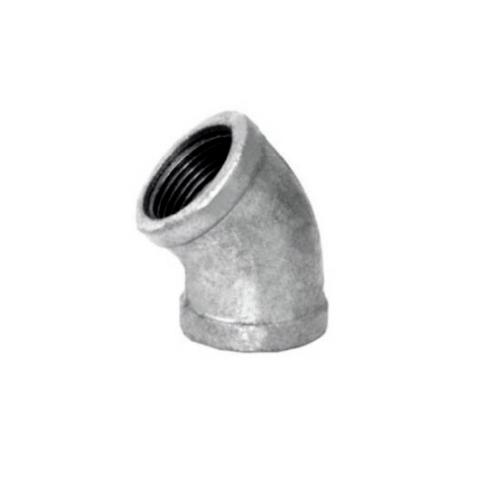 VAVO ข้องอเหล็ก 45 1/2 นิ้ว  1/2นิ้ว